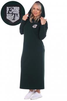 Платье с рукавом митенкой ElenaTex